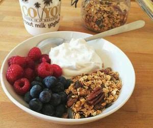 food, berries, and healthy image