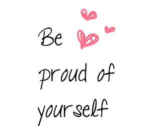 quotes, proud, and heart image