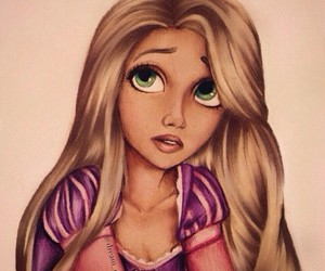 beautiful, colourful, and rapunzel image
