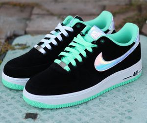 glow in the dark, green, and style image