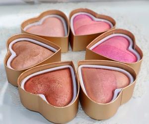 makeup, blush, and beauty image