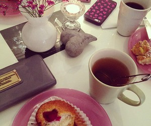 girly and tea image