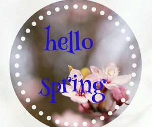 spring, aly02, and goodbay winter image