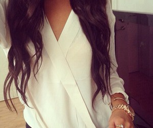 classy, curls, and girl image