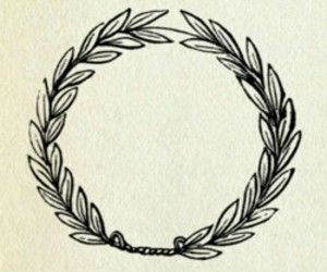 laurel, tattoo, and wreath image