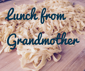 grandmother, lunch, and homesweethome image