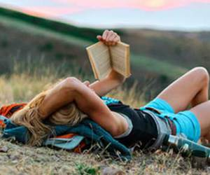 blonde, book, and cool image