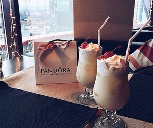 pandora, food, and drink image