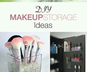 ideas, diy, and make up image