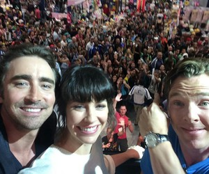 lee pace, the hobbit, and benedict cumberbatch image