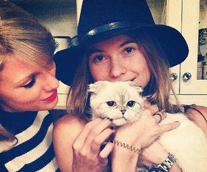 Taylor Swift, cat, and Behati Prinsloo image