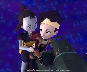 code lyoko, ulrich stern, and yumi ishiyama image