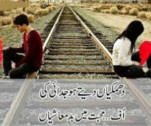 poetry, love urdu poetry, and urdu image