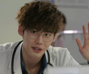 lee jong suk and doctor stranger image