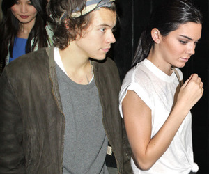 hendall, kendall jenner, and Harry Styles image