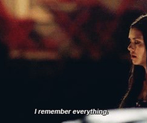 delena, remember, and the vampire diaries image