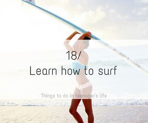 beach, learn, and life image