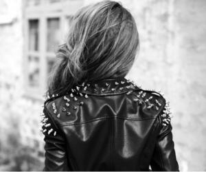 girl, jacket, and hair image
