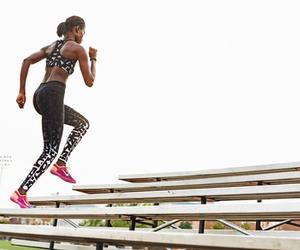 nike, run, and training image