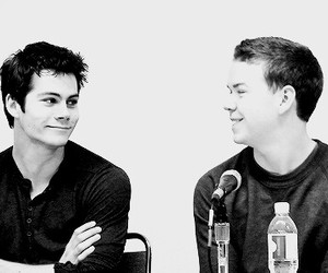 will poulter, dylan o'brien, and the maze runner image
