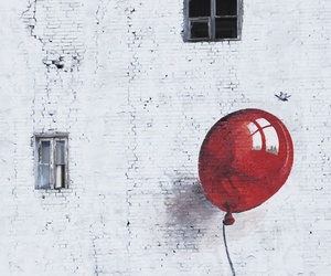 balloon and fly image