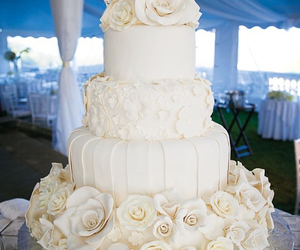 wedding, cake, and wedding cake image