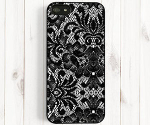 diy- iphone case and use some lace and voila! image