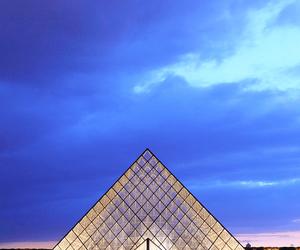 louvre, paris, and photographie image