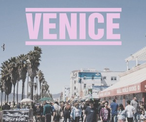 venice, beach, and summer image