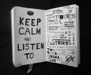 keep calm, arctic monkeys, and music image