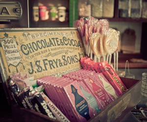 vintage, chocolate, and candy image