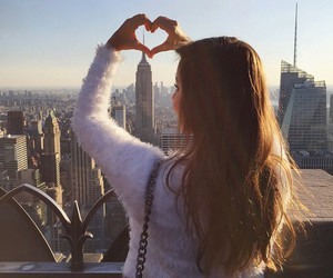 hair, heart, and city image