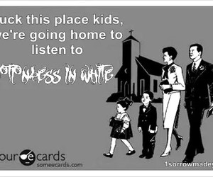 memes, music, and motionless in white image