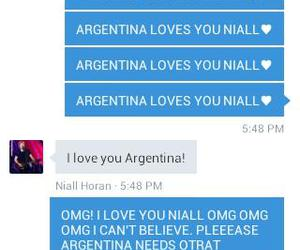 dms, niall horan, and argentina papa image