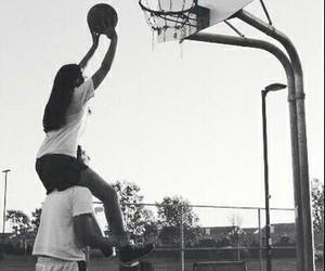 love, couple, and Basketball image