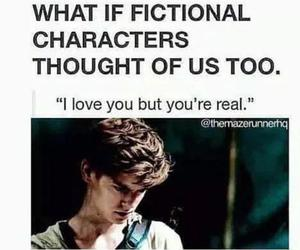 book, newt, and the maze runner image