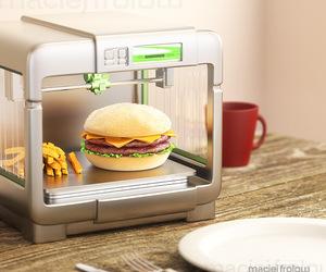 art, burger, and fast food image
