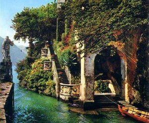 italy, travel, and lake image