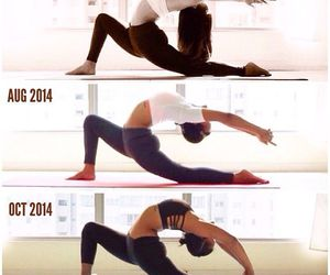 flexible, yoga, and healthy image