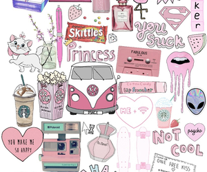 pink, wallpaper, and skittles image