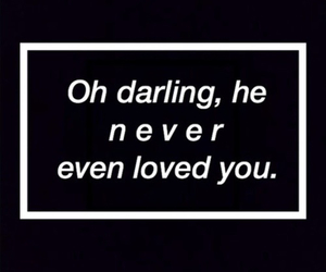 love, darling, and sad image