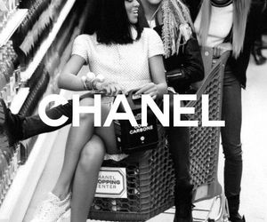 chanel, rihanna, and model image