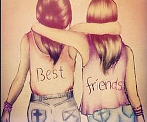 bff, forever, and shirts image