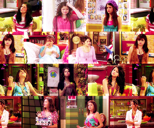 alex russo, selena gomez, and wizards of warvely place image