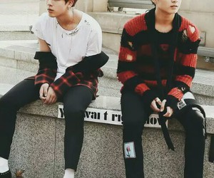 jin, jungkook, and bts image