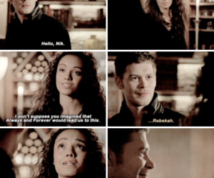 The Originals, rebekah mikaelson, and klaus mikaelson image