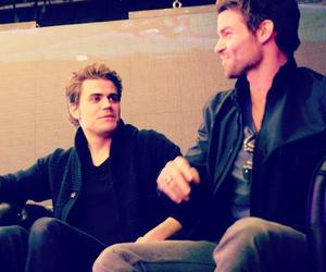 paul wesley and daniel gillies image
