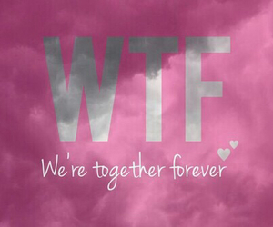 forever, together, and love image