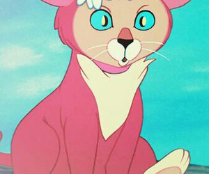 alice in wonderland, cartoon, and cats image