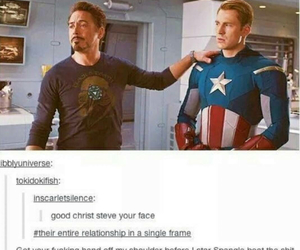 captain america, funny, and lol image